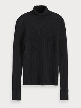 Bilde av Fine rib knitted turtle neck