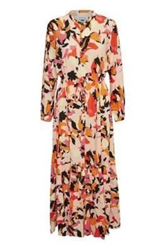 Bilde av DHParis Flower print maxi dress